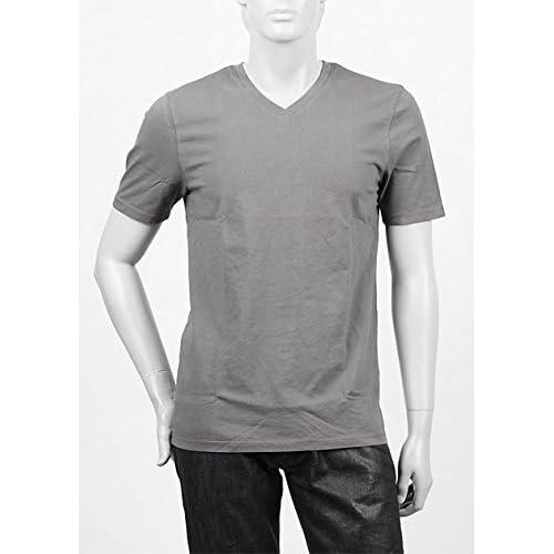 (スリードッツ) three dots VネックTシャツ Sサイズ GRANITE [並行輸入品]