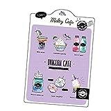 【ファンシー文具】下敷き(UNICORN)★MELTY CAFE★ 551021