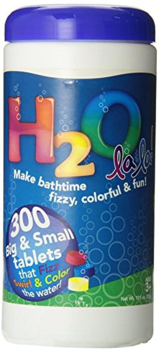 宗教時折前投薬色私のBath h2o La La Color Changingバスタブレット、300-piece
