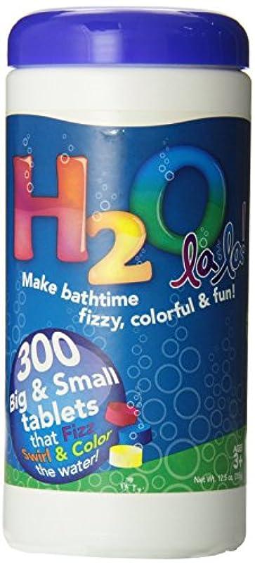 優しい忠誠食物色私のBath h2o La La Color Changingバスタブレット、300-piece
