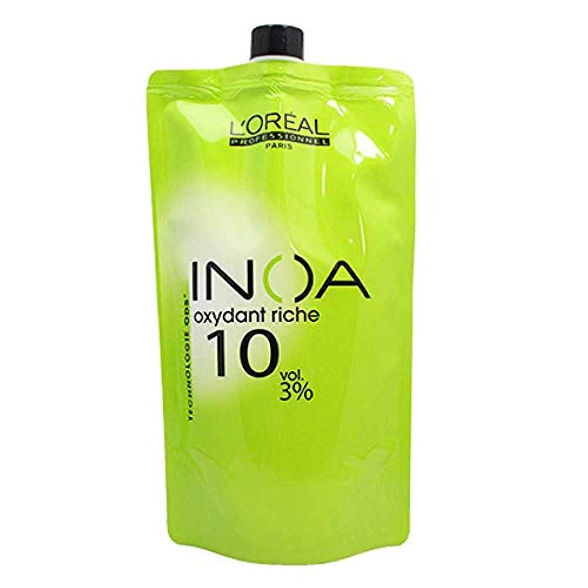 色合い焦げ節約ロレアル イノア オキシダンクリーム 第2剤 (3%)