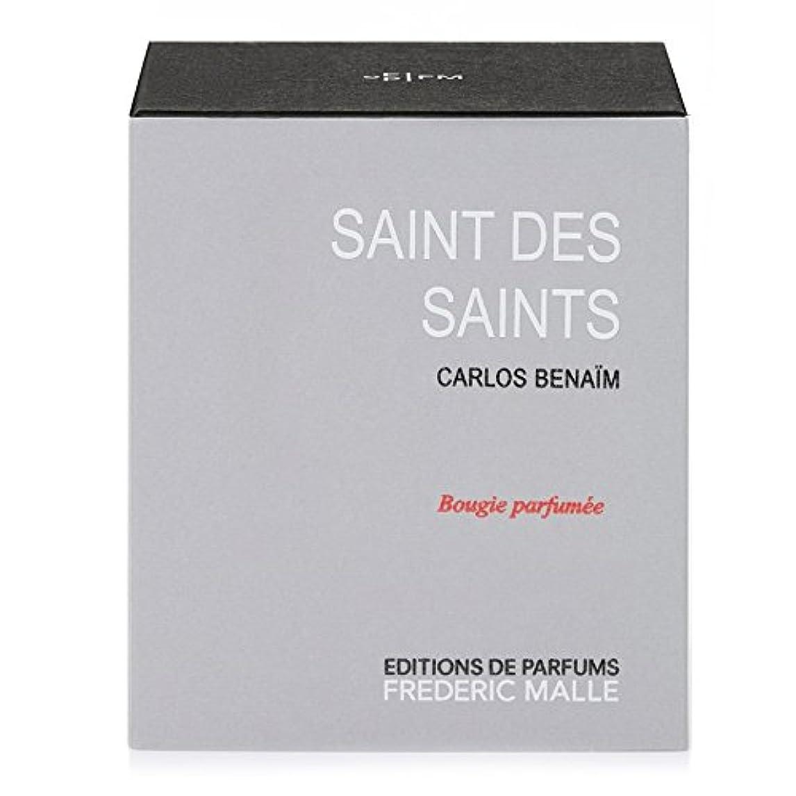 究極の色セッションフレデリック?マル聖人デ聖人の香りのキャンドル220グラム x6 - Frederic Malle Saint Des Saints Scented Candle 220g (Pack of 6) [並行輸入品]