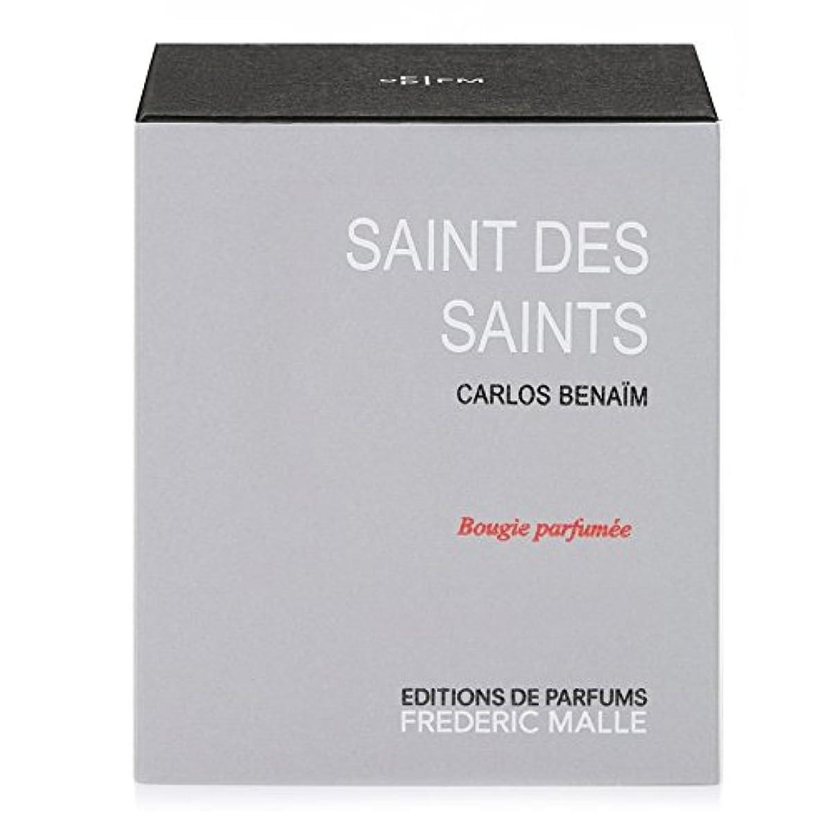 たるみ違う伝導フレデリック?マル聖人デ聖人の香りのキャンドル220グラム x6 - Frederic Malle Saint Des Saints Scented Candle 220g (Pack of 6) [並行輸入品]