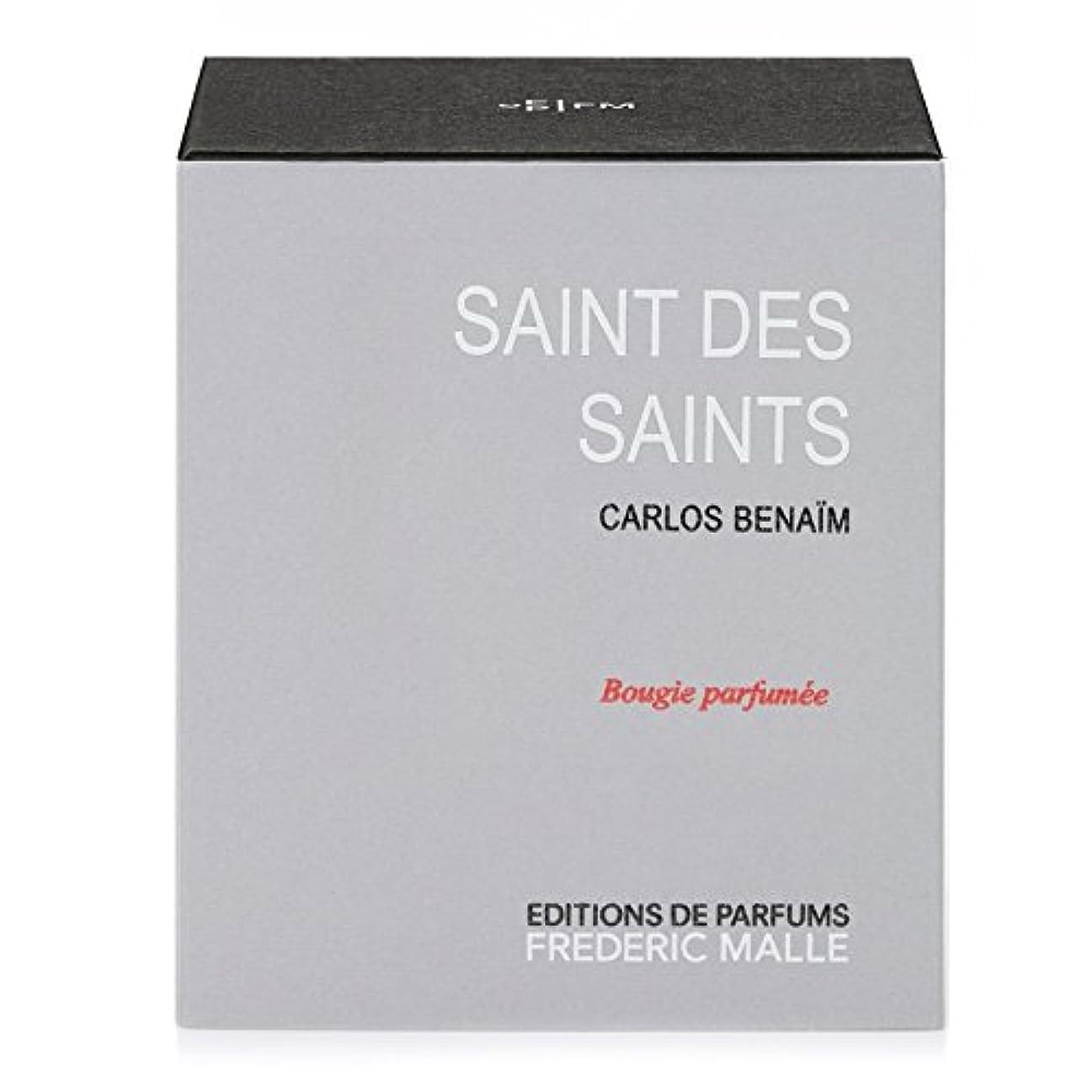 刈る予測する貨物フレデリック?マル聖人デ聖人の香りのキャンドル220グラム x6 - Frederic Malle Saint Des Saints Scented Candle 220g (Pack of 6) [並行輸入品]