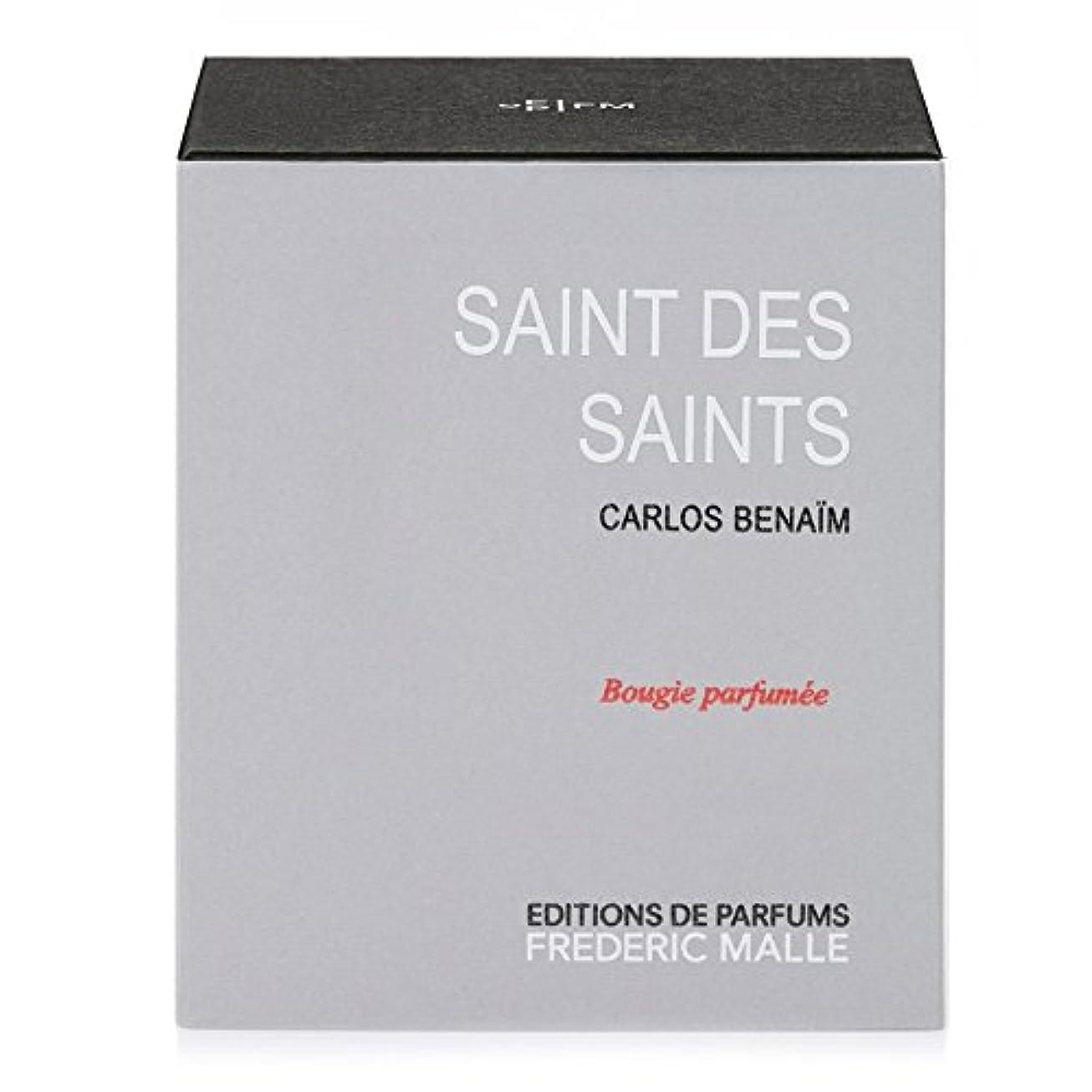 ジレンマ矩形クロールフレデリック?マル聖人デ聖人の香りのキャンドル220グラム x6 - Frederic Malle Saint Des Saints Scented Candle 220g (Pack of 6) [並行輸入品]