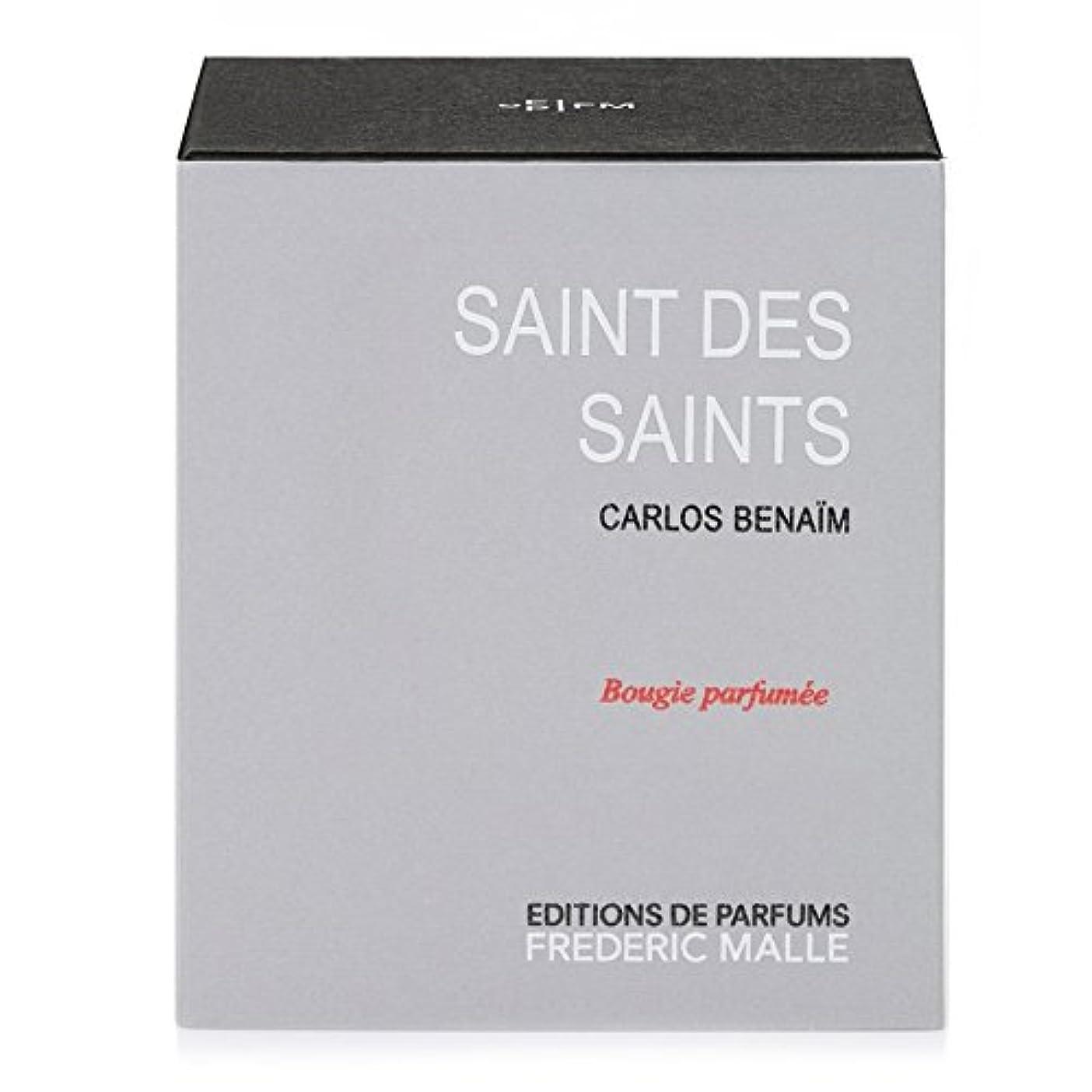 失速映画消防士フレデリック?マル聖人デ聖人の香りのキャンドル220グラム x6 - Frederic Malle Saint Des Saints Scented Candle 220g (Pack of 6) [並行輸入品]