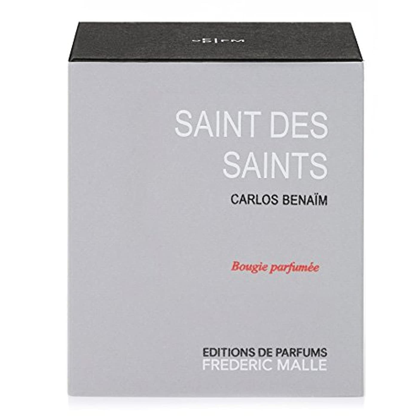 伝染性の撤退原子炉フレデリック?マル聖人デ聖人の香りのキャンドル220グラム x6 - Frederic Malle Saint Des Saints Scented Candle 220g (Pack of 6) [並行輸入品]