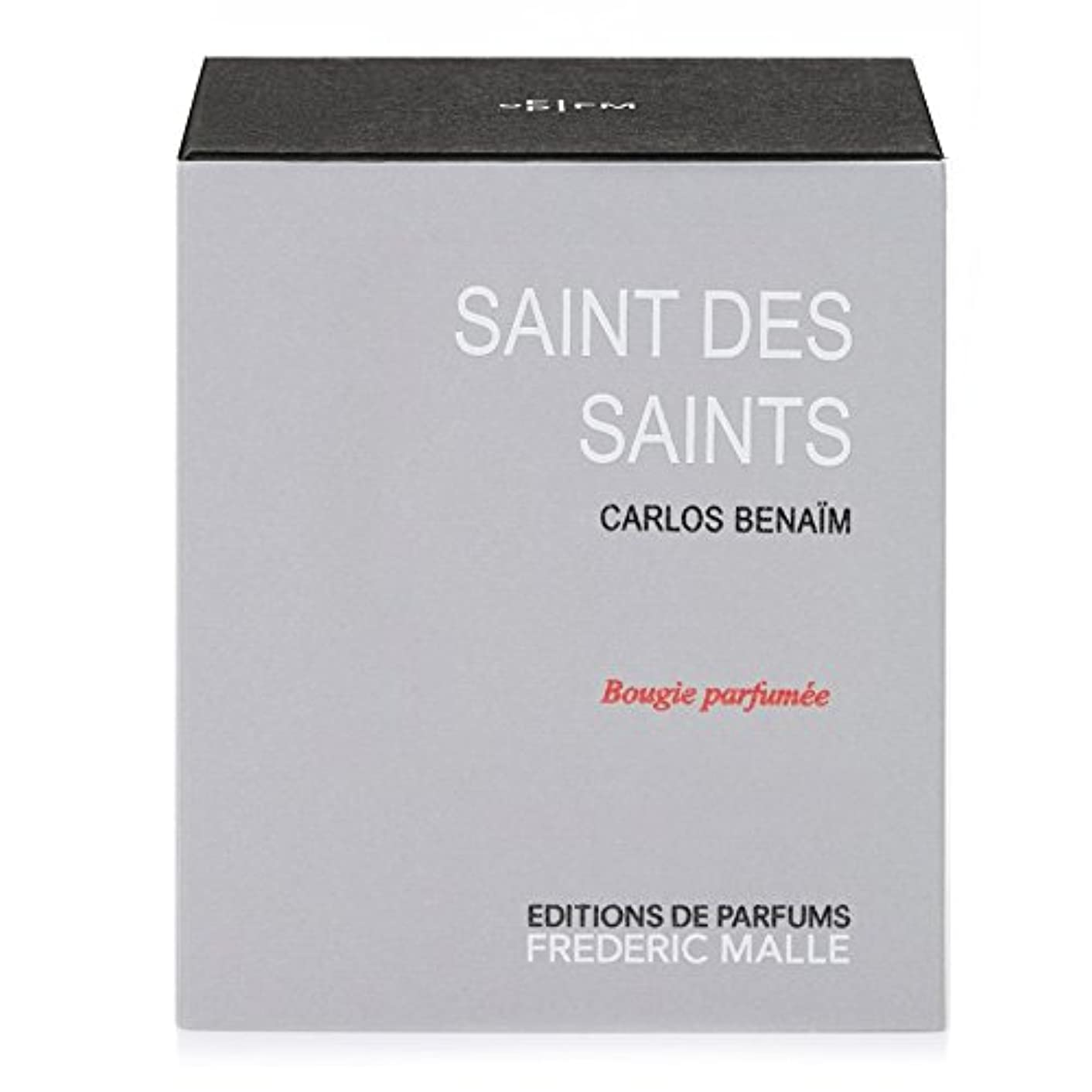 Frederic Malle Saint Des Saints Scented Candle 220g (Pack of 4) - フレデリック?マル聖人デ聖人の香りのキャンドル220グラム x4 [並行輸入品]