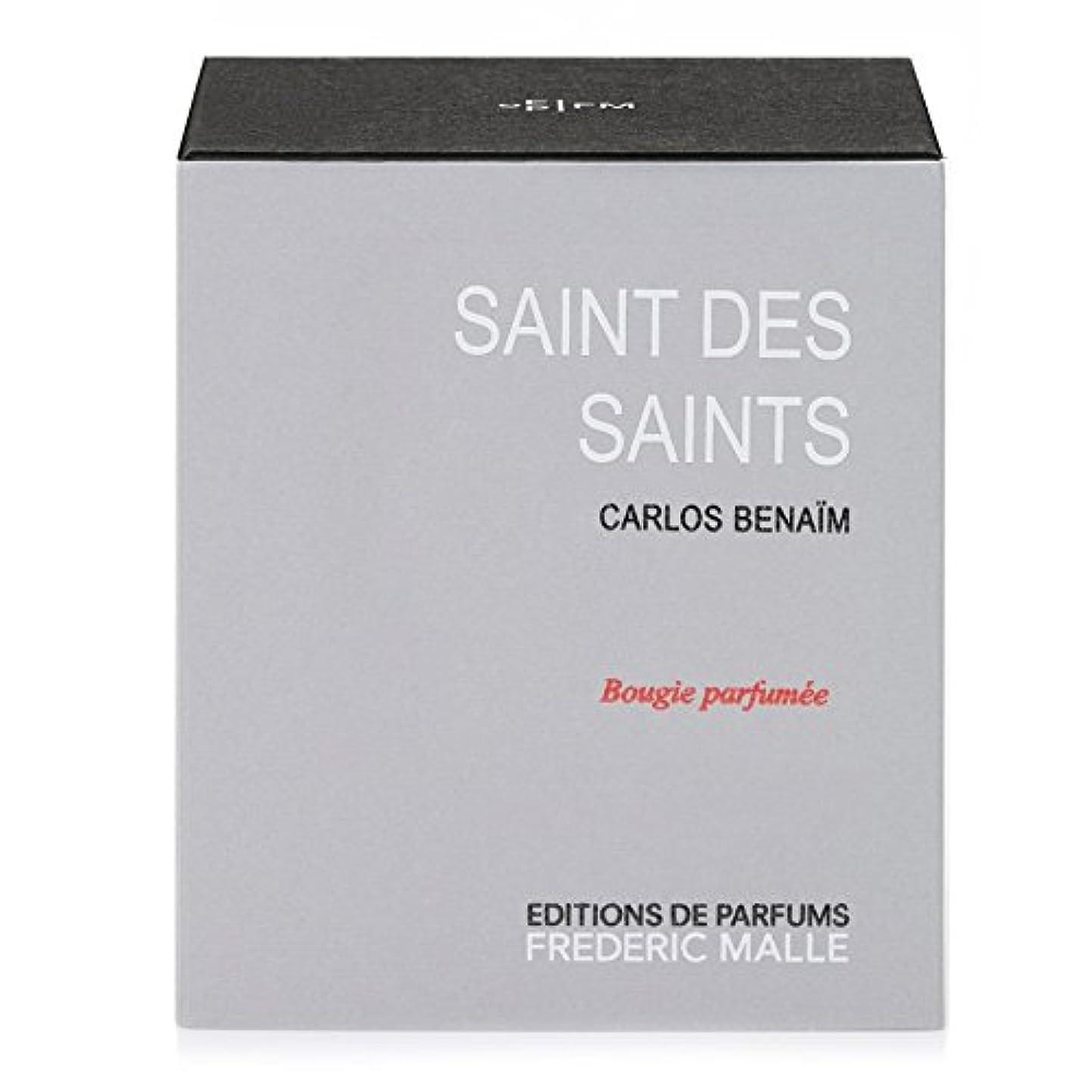 昇進放出電球Frederic Malle Saint Des Saints Scented Candle 220g - フレデリック?マル聖人デ聖人の香りのキャンドル220グラム [並行輸入品]