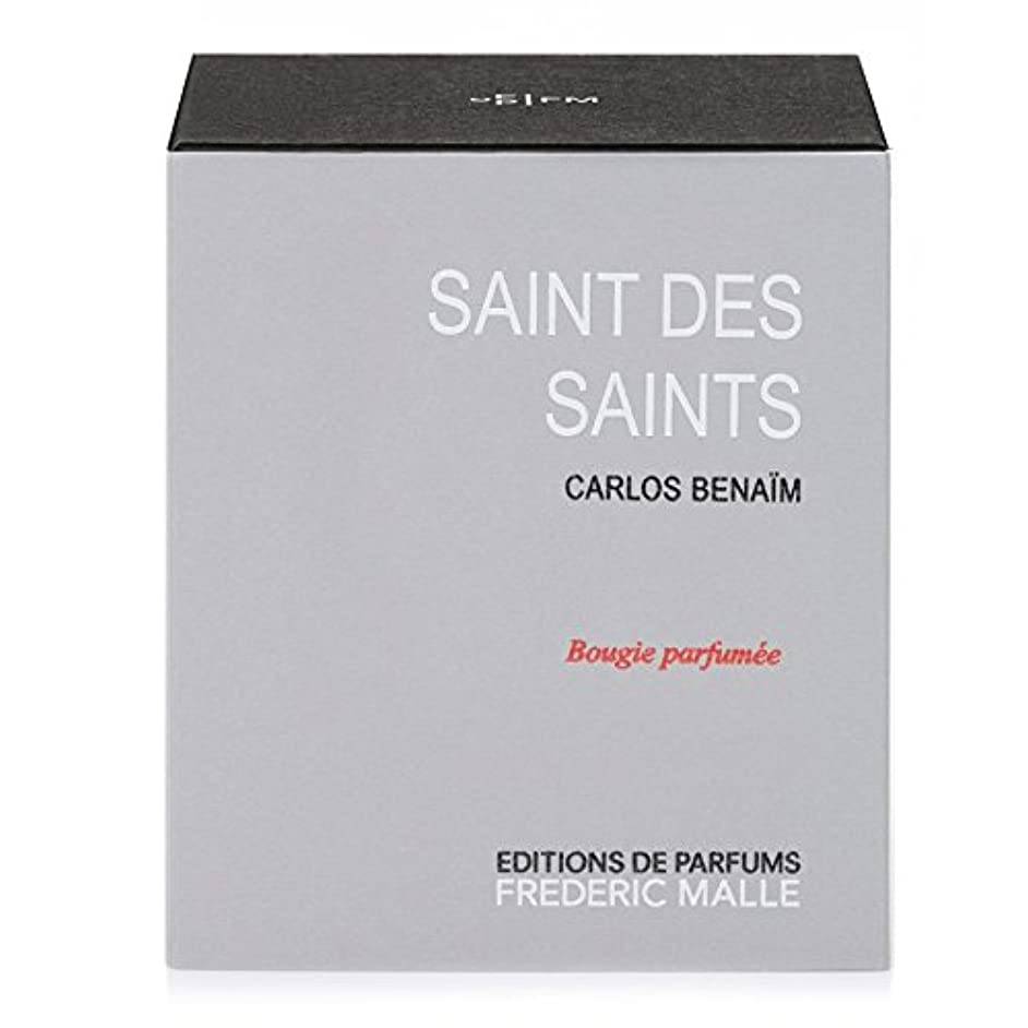 家庭教師先グリーンランドフレデリック?マル聖人デ聖人の香りのキャンドル220グラム x6 - Frederic Malle Saint Des Saints Scented Candle 220g (Pack of 6) [並行輸入品]