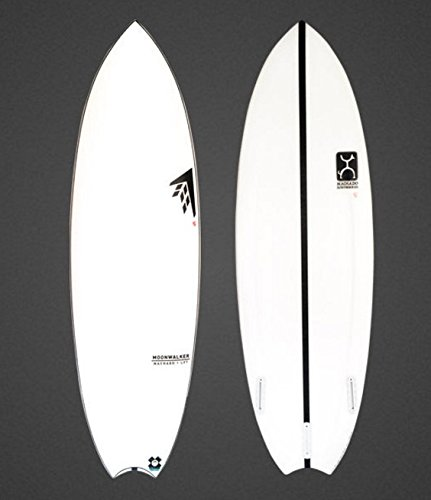 FIREWIRE SURFBOARDS JAPAN LIMITED MODEL MOONWALKER LFT shaped by Rob Machado ファイヤーワイヤー サーフボード ムーンウォーカー ロブマチャドシェイプ 日本正規品 (ホワイト, 5'6)
