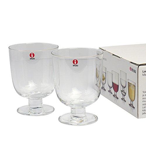 [イッタラ] iittala Lempi(レンピ)Glass グラス 2個セット 340ml クリアー [並行輸入品]