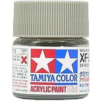 タミヤ アクリルミニ(つや消し) XF20 ミディアムグレイ