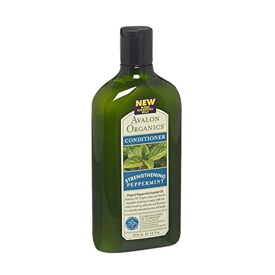 壁浴室斧アバロンペパーミントリバイタライジングコンディショナー - Avalon Peppermint Revitalizing Conditioner (Avalon) [並行輸入品]