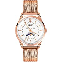 Henry London HL39-LM-0162 Richmond White Rose Gold Watch
