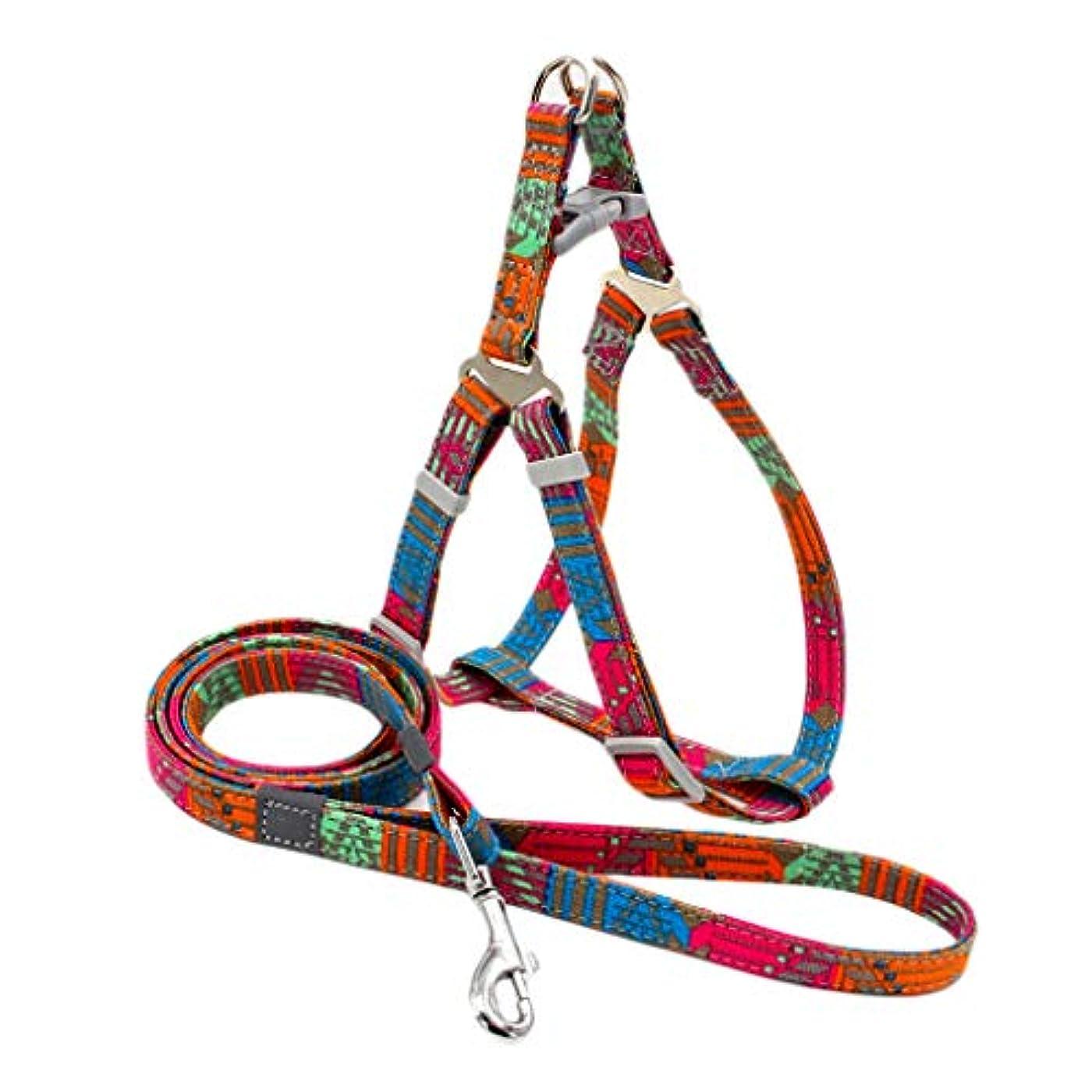フェミニン方向分岐する犬 猫 ハーネス 首輪 胴輪 小型犬 ソフト 軽量 安全 簡単着脱 調節可能 老犬 歩行補助 全2タイプ2サイズ - タイプ1, M