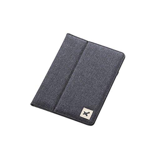 7.0〜8.4インチ汎用タブレットケース(ファブリック)/黒 TB-08FCHBK 1個