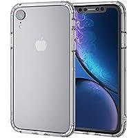 エレコム iPhone XR ケース 衝撃吸収 TRANTECT ハイブリッド バンパー 【iPhoneを美しく守る。】 クリア PM-A18CHVBCR