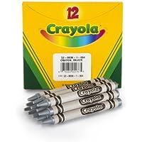 Crayola Bulkクレヨンシルバー 4-Pack of 12 52-0836-084-C4