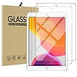 Apple iPad 10.2 iPad 10.5 iPad Air 2019 液晶保護フィルム 2枚入 iPad 10.2インチ 第七世代 強化ガラスフィルム Qosea 硬度9H 指紋防止 飛散防止 超薄0.3mm 2.5D ラウンドエッジ加工