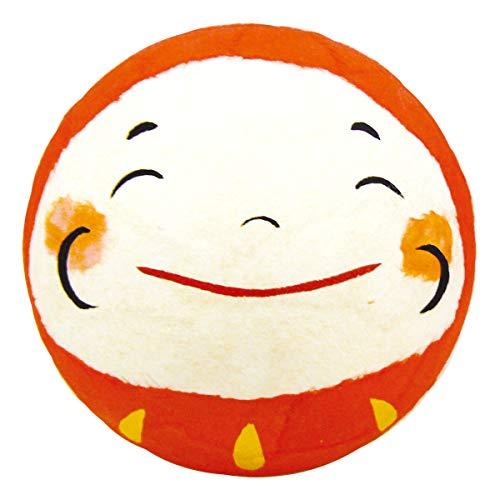 「ちぎり和紙 大福ミニだるま 笑い目」手作り和紙細工 和みの和雑貨 置物