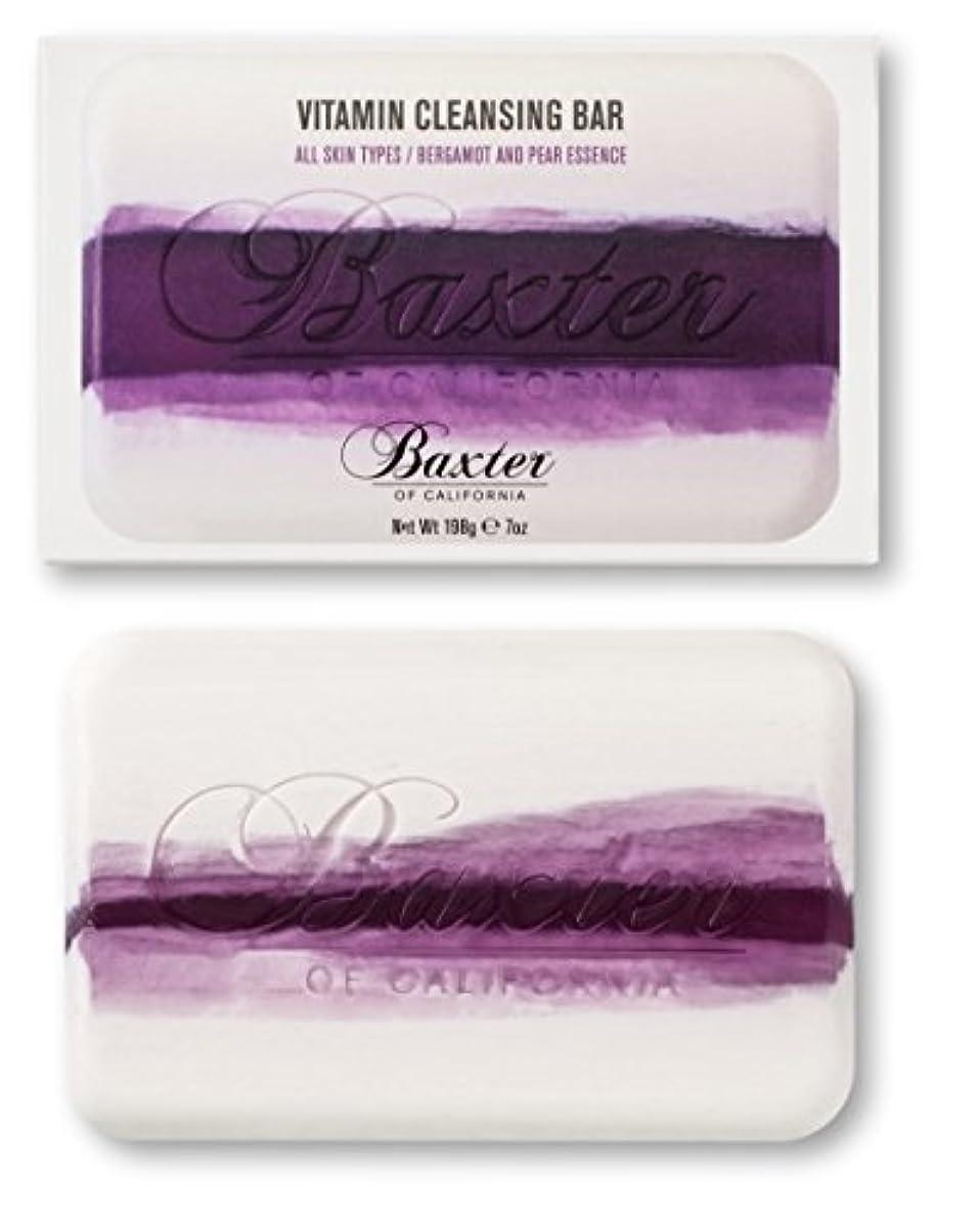 発行目の前の疫病Baxter OF CALIFORNIA(バクスター オブ カリフォルニア) ビタミンクレンジングバー ベルガモット&ペアー 198g