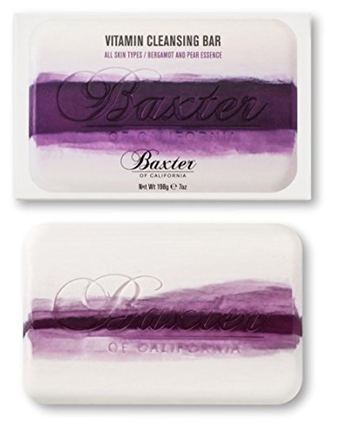 パウダーめ言葉項目Baxter OF CALIFORNIA(バクスター オブ カリフォルニア) ビタミンクレンジングバー ベルガモット&ペアー 198g