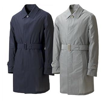 Valstar Cotton Silk Coat: Navy, Grey