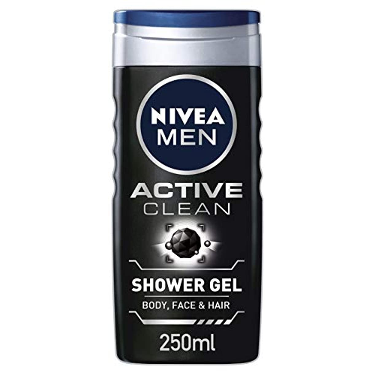 犬家族苦味Nivea Men Active Clean Shower Gel 250ml