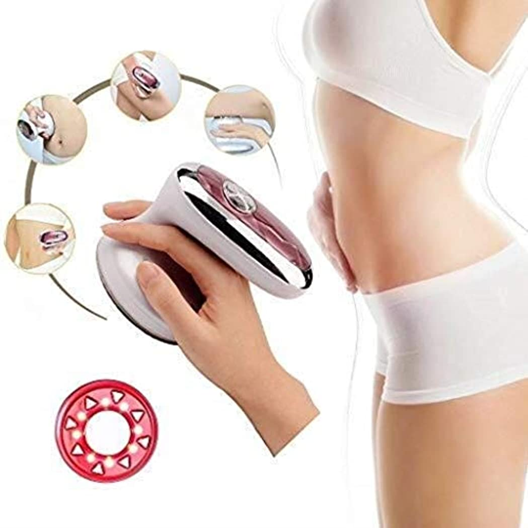 カバー役立つリビジョン美容マッサージ器、RF超音波ボディスリミングマッサージ器、ポータブル脂肪バーナー、振動美容インストゥルメント、腰とスリミングファーミングスキン/シェーピング美容インストゥルメント