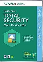 Kaspersky Total Security - サブスクリプションライセンス(1年)