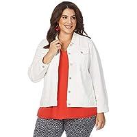 Beme Embroidery Anglaise Jacket - Womens Plus Size Curvy