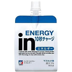 森永製菓 ウイダーinゼリー エネルギー 180g