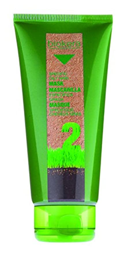 静脈内側レポートを書くSalerm Biokeraナチュラ特定オイリーヘアーマスク仮面 - 6.9オンス
