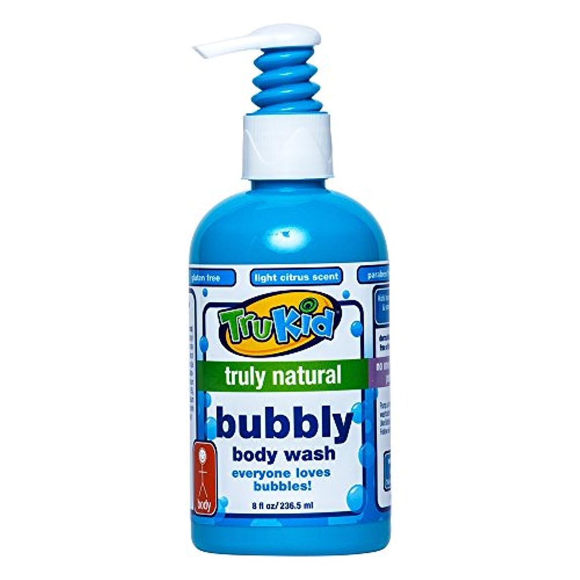 膨らませる差別化する香港TruKid, Bubbly Body Wash, 8 fl oz (236.5 ml)