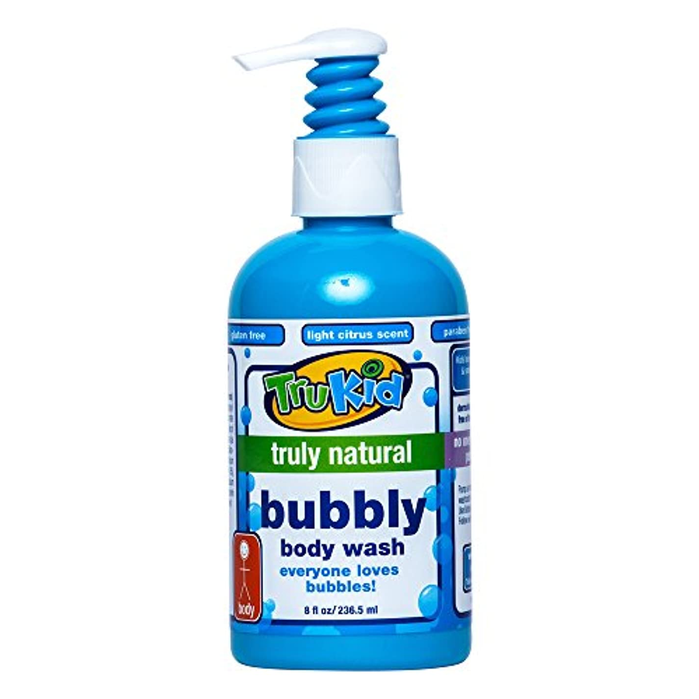 仕方危機デジタルTruKid, Bubbly Body Wash, 8 fl oz (236.5 ml)