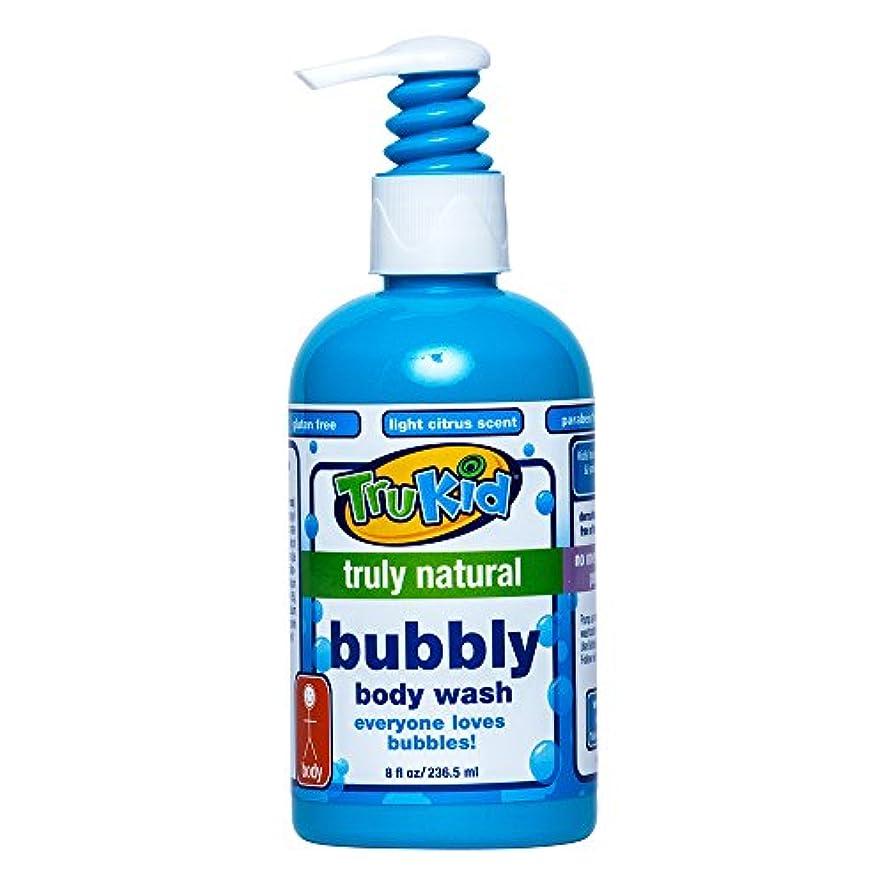 建設荒涼とした民間TruKid, Bubbly Body Wash, 8 fl oz (236.5 ml)