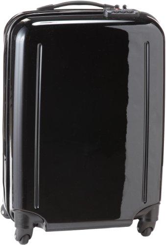 ジャストキャビン TSAジッパーロックスーツケース 75-23021 (ブラック) エミネント