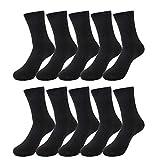 靴下 メンズ ビジネスソックス 10足セット/6足セット 24-28㎝ 銀イオン 抗菌防臭 黒 RPXX1005