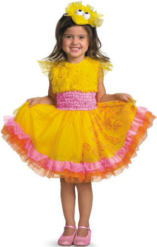 Sesame Street - Frilly Big Bird Toddler / Child Costume セサミストリート - フリルビッグバード幼児/子供コスチューム♪ハロウィン♪サイズ:Small (4/6X)