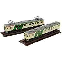 トミーテック ジオコレ 鉄道コレクション JR 107系0番代 日光線 旧塗装 2両セット ジオラマ用品