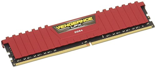 CORSAIR メモリモジュール DDR4 デスクトップPC用 VENGEANCE LPX Series CMK8GX4M1A2666C16R B0123ZASHO 1枚目
