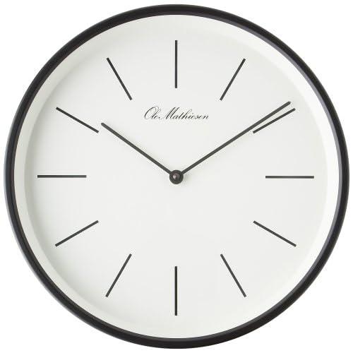 OLE MATHIESEN (オーレ・マティーセン) 掛け時計 Line Clock Black OM2B/w L3 OMC-R310