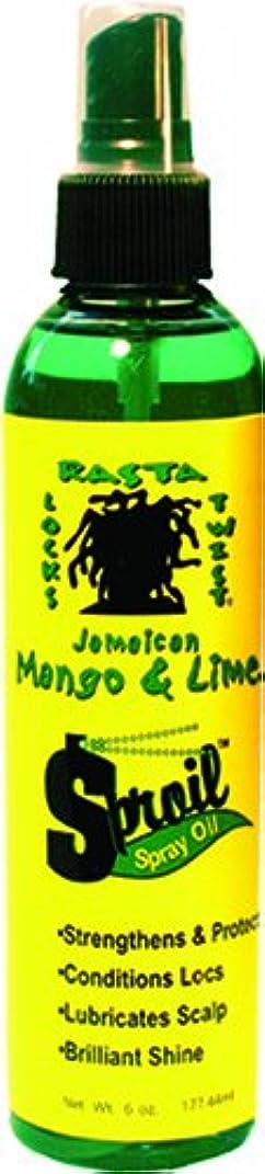 路地名詞飢えたJamaican Mango & Lime Sproil Stimlatingssprayオイル、6オンス