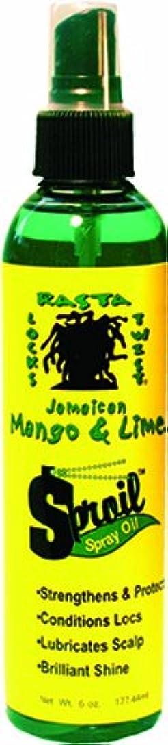 絡まる断片連結するJamaican Mango & Lime Sproil Stimlatingssprayオイル、6オンス