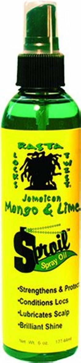 肺からかうピンJamaican Mango & Lime Sproil Stimlatingssprayオイル、6オンス