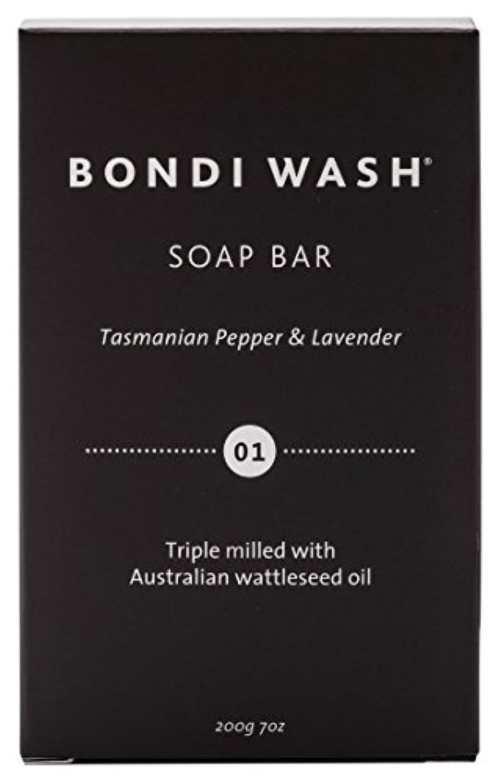 アルファベット数字ソケットBONDI WASH ソープバー(固形石鹸) タスマニアンペッパー&ラベンダー 200g