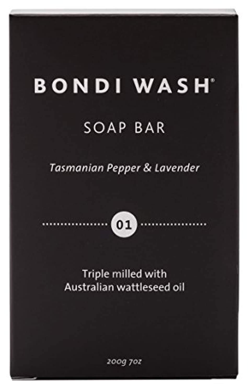 重要踊り子不良品BONDI WASH ソープバー(固形石鹸) タスマニアンペッパー&ラベンダー 200g