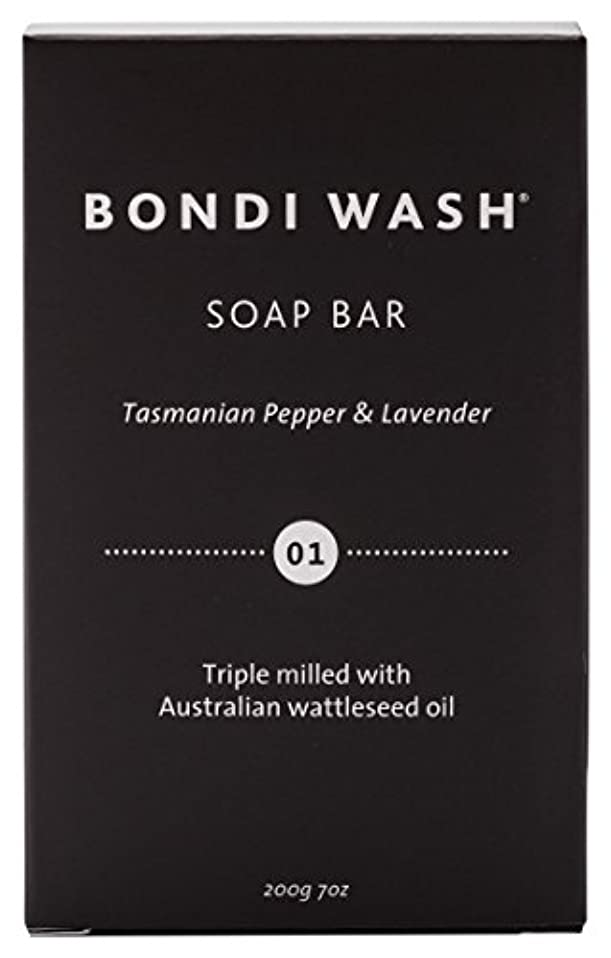 置換保守可能紳士BONDI WASH ソープバー(固形石鹸) タスマニアンペッパー&ラベンダー 200g