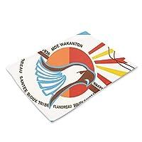リネン ランチョンマット 和風 撥水 防汚 断熱 丸洗いOK お手入れ簡単 食卓飾り 雰囲気 フランドローサンティースー族の国旗 家庭 レストラン用